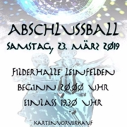 Abschlussball Fabi Dance 23. März 2019